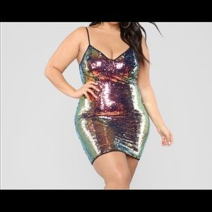 Fashion nova show off that sparkle NWTsequin dress